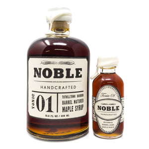 Bourbon Maple Syrup by Noble