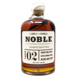 Vanilla Maple Syrup by Noble