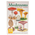 The Famous Mushrooms Playing Cards