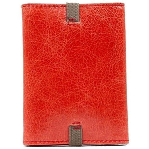 Cartera desplegable slim, rojo anaranjado. Elige tu interior, Icon Piamonte 950
