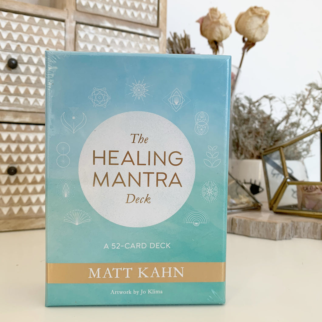 The Healing Mantra Deck By Matt Kahn