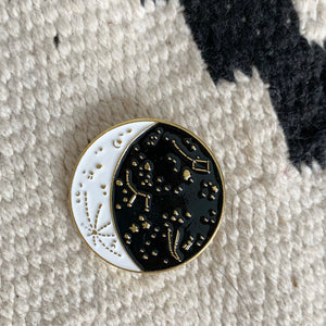 Moon Phase Pin