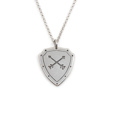 Shield Necklace
