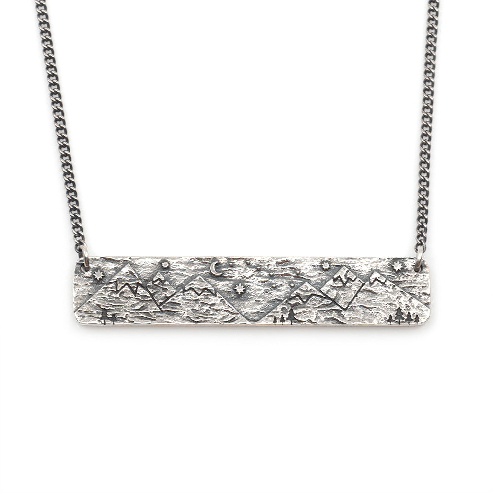 Take Me to the Mountains Necklace