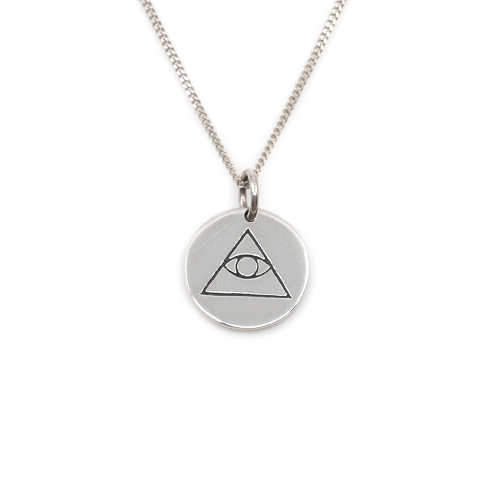 Third Eye Coin Necklace