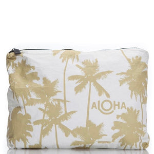 Coco Palms MID Aloha Bag - Sand & White