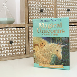 Magical Unicorns Oracle Cards - GENTLY LOVED