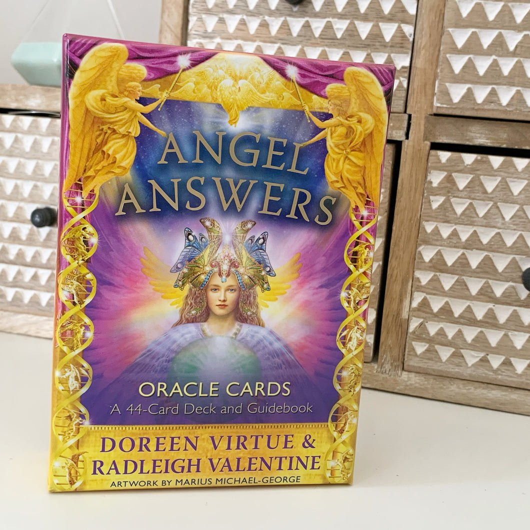 Angel Answers Oracle Deck - GENTLY LOVED