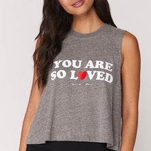 Load image into Gallery viewer, You Are So Loved - Spiritual Gangster Tank