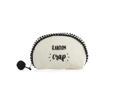 Randon Crap Cosmetic Pouch Bag