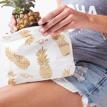 Load image into Gallery viewer, Small Aloha Pineapple Fields Bag