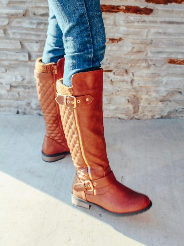 Tan Hunter Boots