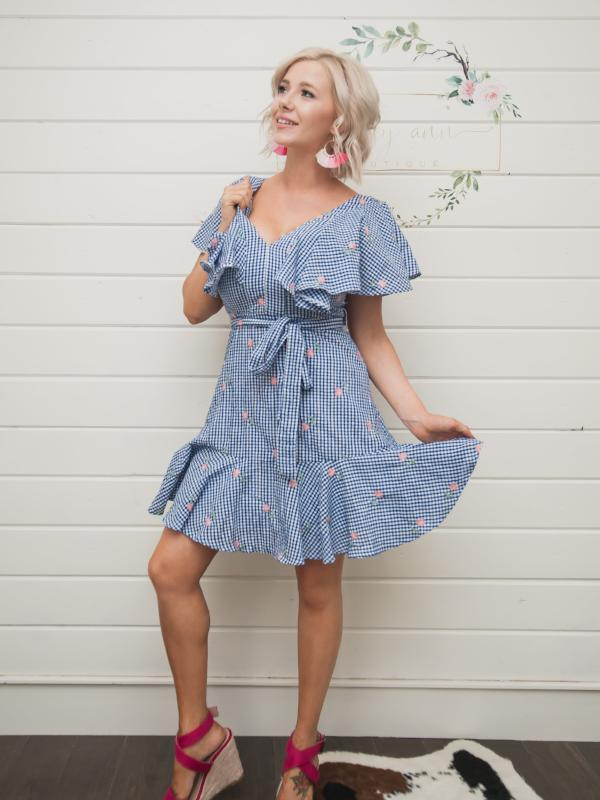 Gingham Days Dress