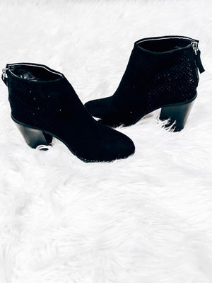 Back In Black Booties
