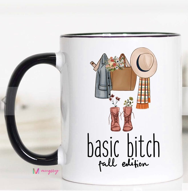 Basic B***h Fall Edition Coffee Mug