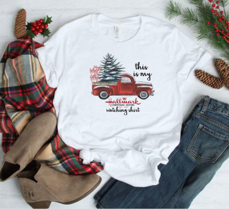 PREORDER This Is My Hallmark Christmas Movie Watching Shirt