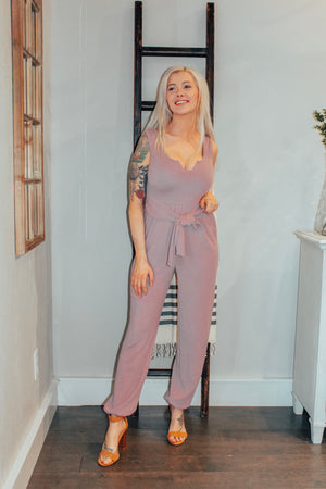 Mauve Perfect Fit Jumpsuit