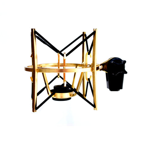 MXL USM-001-G Gold Plated Heavy Duty Basket Shock-mount