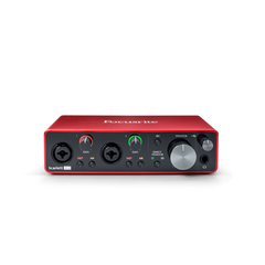 Focusrite Scarlett 2i2 3rd Gen 192kHz USB Audio Interface w/Pro Tools First