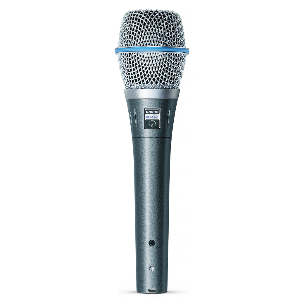 Shure BETA 87A Supercardioid Condenser Handheld Microphone