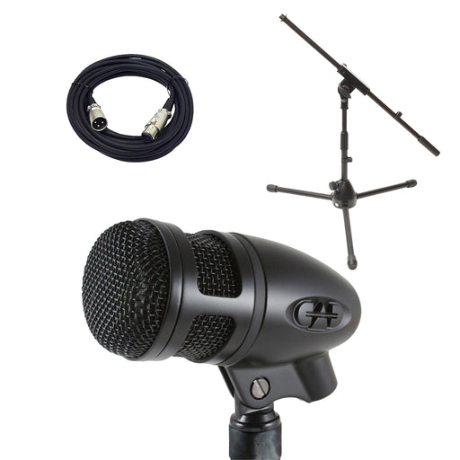 CAD D88 w/ 20' XLR Cable and Short Boom Mic Stand Essentials Bundle