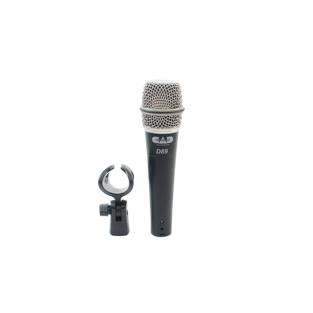 CAD D89  Supercardiod Dynamic Instrument Microphone