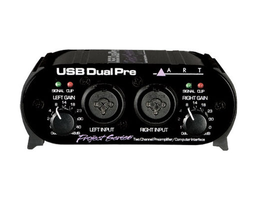ART USB Dual Pre PS 2 Channel Preamp/Computer Interface