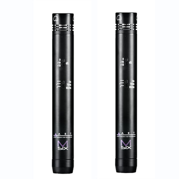ART M-Six Stereo Pencil Condenser (Matched Pair)