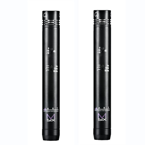 M-Six Stereo Pencil Condenser (Matched Pair)