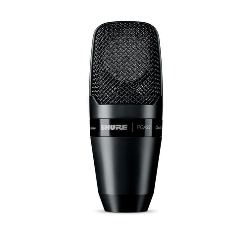 Shure PGA27 PG Large Diaphragm Side-Address Cardioid Condenser Mic w/o XLR