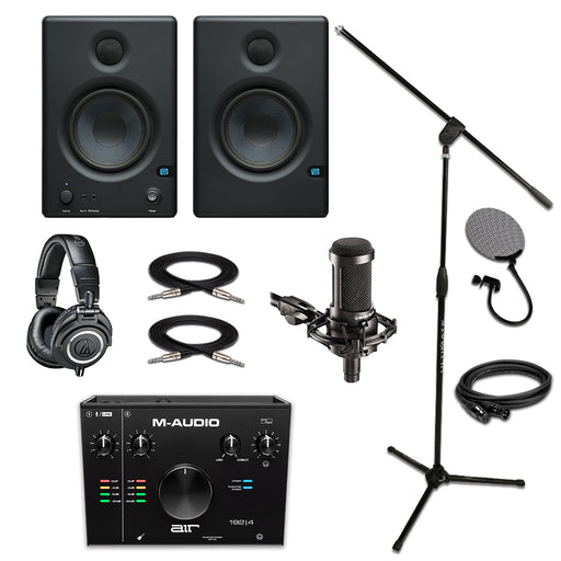 M-Audio Air 192|4 Presonus E4.5 AT2035 ATM50x Pro Bundle