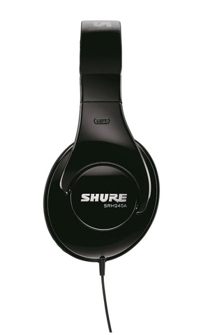 Shure SRH240A Professional Closed-back Studio Headphones