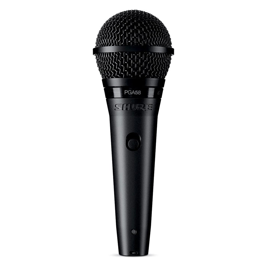 Shure PGA58-LC Cardioid Dynamic Vocal Mic, No Cable