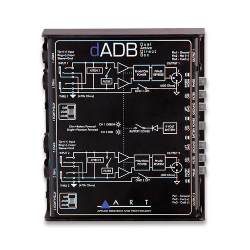 dADB Dual Active Direct Box