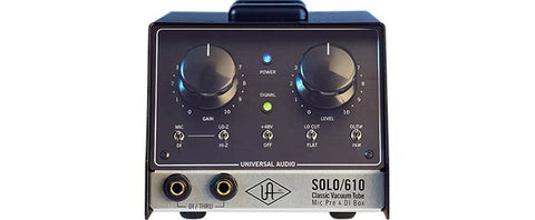 Universal Audio Solo/610Classic Tube Single Channel Mic Pre