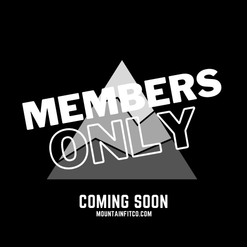 Mountainfit - Members Only