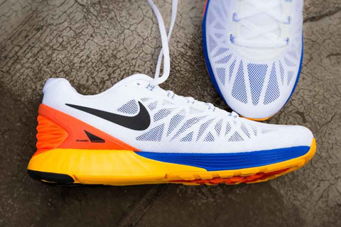 7a7d53bbdee Nike Lunar Glide 6 - White Orange