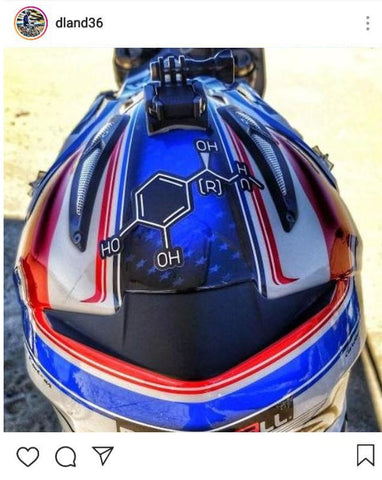 Adrenaline Junkie | @Dland36 Repping our famous Adrenaline Junkies Sticker!