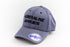 Adrenaline Junkies Pro-stitch Pre-Curved Hat (Grey)