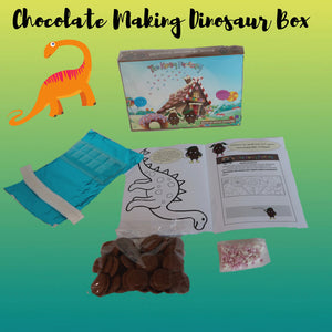 Chocolate Making Dinosaur Box