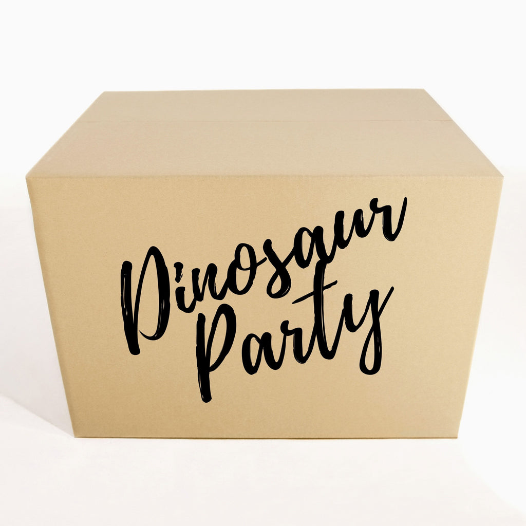 Dinosaur Birthday Party Kit - 1O People Party