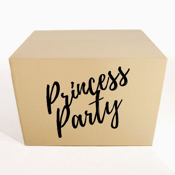 Birthday Princess Party Kit - 1O People Party