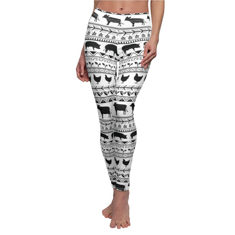 Vegan Animal Print Leggings!
