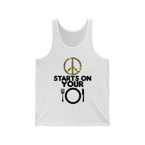 Image of PEACE: Unisex Tank