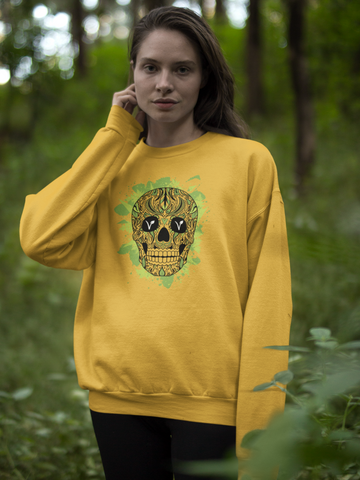 Image of Vegan Sugar Skull: UNISEX
