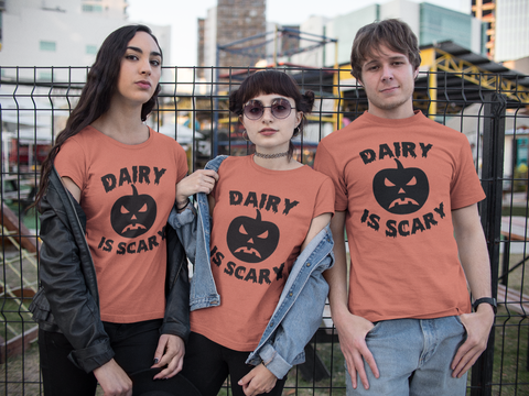 DAIRY IS SCARY Unisex Tee