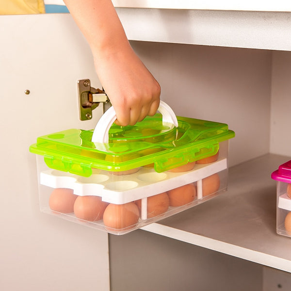 Plastic  Double Layer Storage