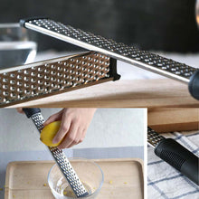 Load image into Gallery viewer, Long Stainless Steel Cheese Grater