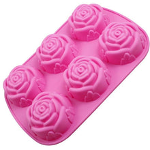 Load image into Gallery viewer, Flower Soap Silicone Mold Baking