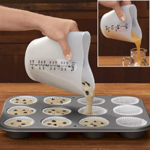 High Temperature Resistance Silicone Measuring Cup